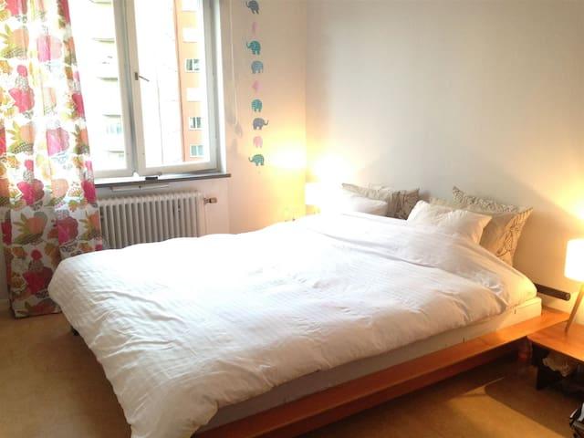 Beautiful room 7 min to Stockholm City - Solna