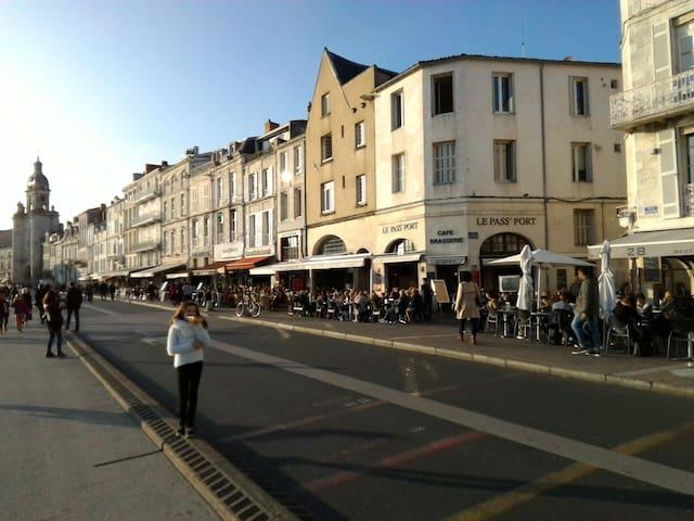 Studio Vieux Port de La Rochelle avec WiFi - La Rochelle - Daire