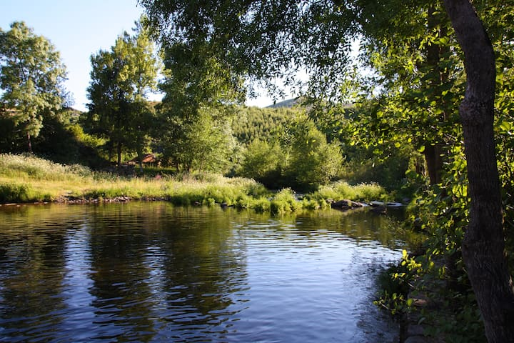 Retiro da Arminda - Turismo Rural - Quarto Lilas - Canedo - Bed & Breakfast
