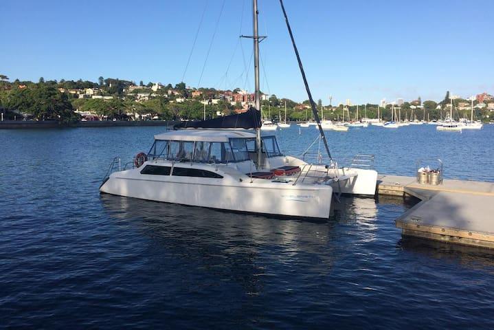 Wavelength Harbour Cruises. Rose Bay, Sydney - Rose Bay - Barco
