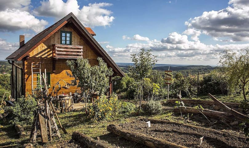 Cute wooden house in nature near Zagreb! - Blaguša - 一軒家