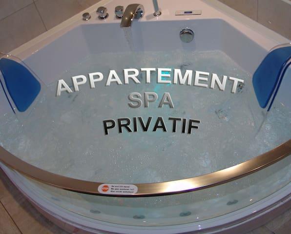 appartement spa privatif à beaune - Beaune - Lägenhet