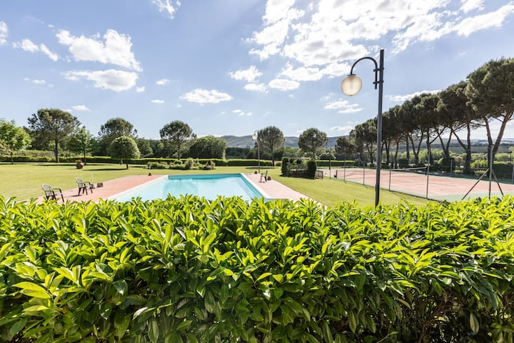 Apt in the heart of Tuscany- Il Fienile - Bucine - Appartement