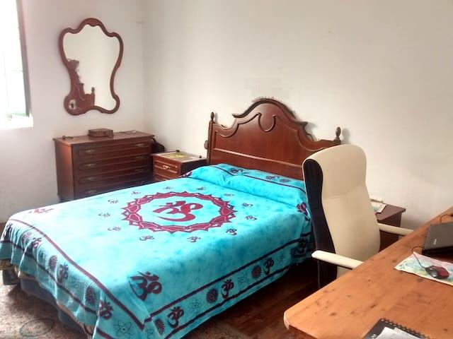 Roomy double bedroom in a cottage - Teror - Villa