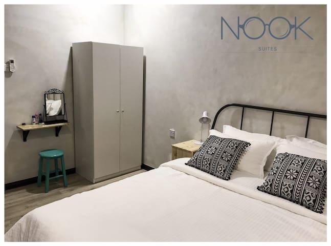 CENTRAL 2BR W/ BFAST AT NOOK CAFE! - Nook Suite 1 - โคตา กินาบาลู - อพาร์ทเมนท์