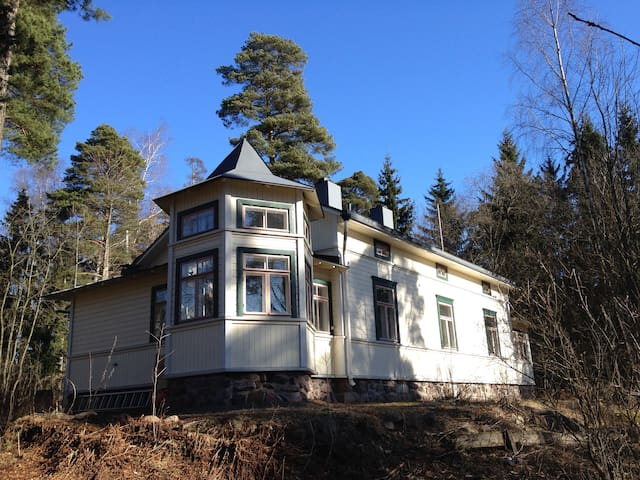 Cozy cottage close to  the sea & city centre - Helsinki - Huis