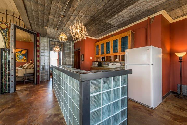 The Artist's Loft at Luminaries - Saint Croix Falls - Departamento