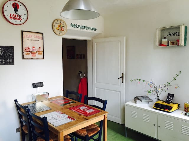 VINTAGE House *no stress for parking* - Very Comfy - Florence - Huis