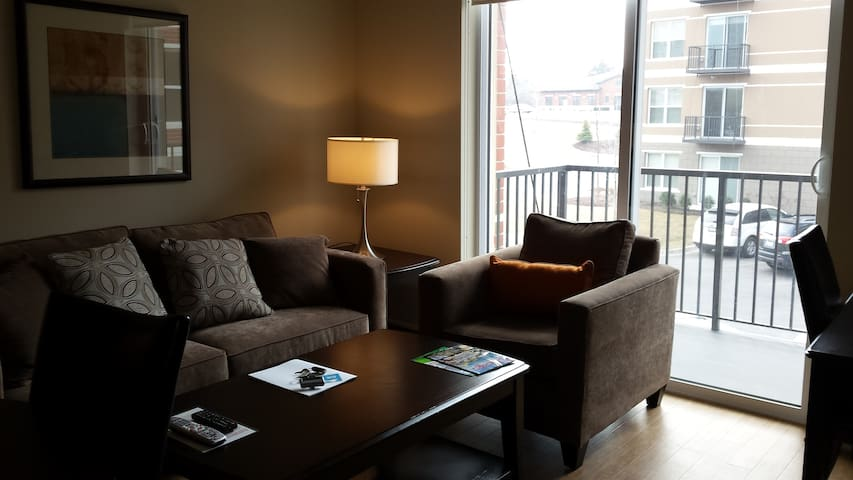 Modern 1BR/1BA @ in Lisle - Lisle - Apartemen