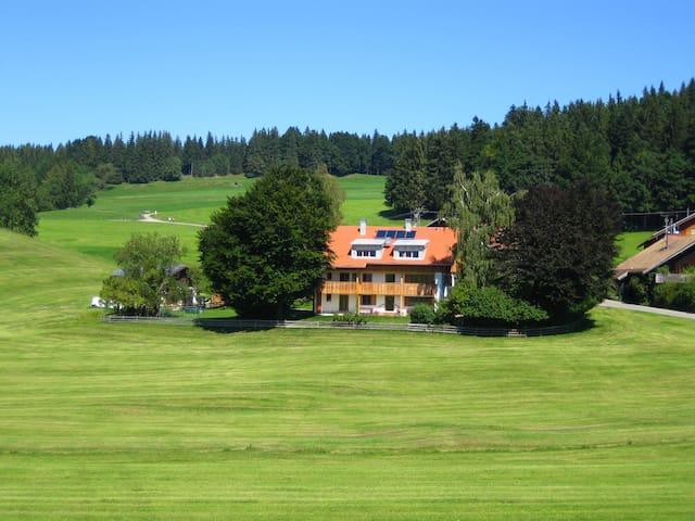 Appartement in herrlicher Lage & tollem Bergblick - Eisenberg - Departamento