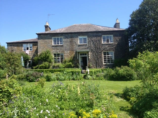 Trafford House Farm , old farm house - Chipping Warden - Huis