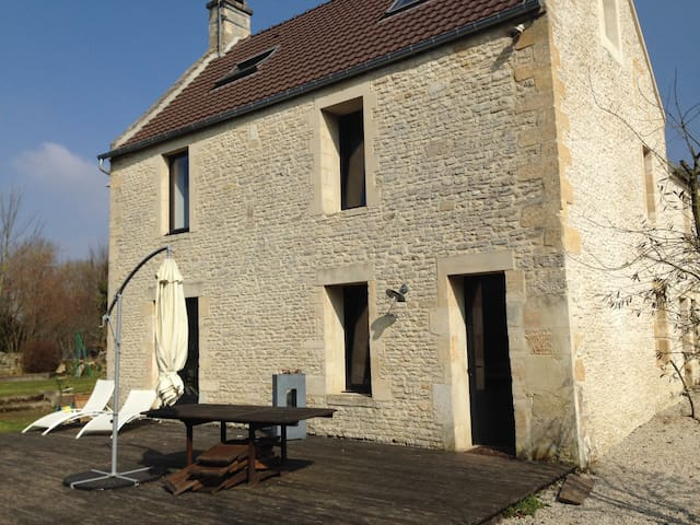 Normandie maison proche plages du Débarquement - Rots - Ev