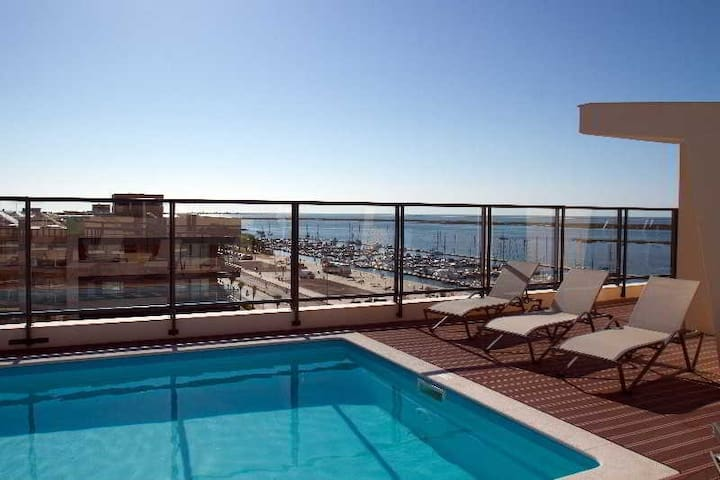 Beautiful Apartment with swimming pool - Olhão - Pis