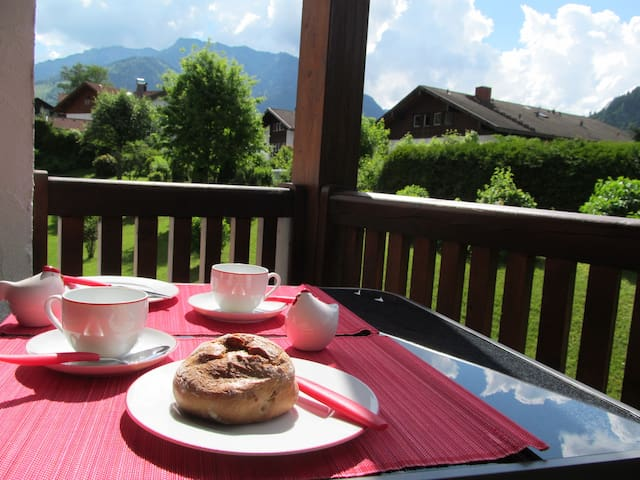 Urlaub mit Bergblick - Bad Hindelang