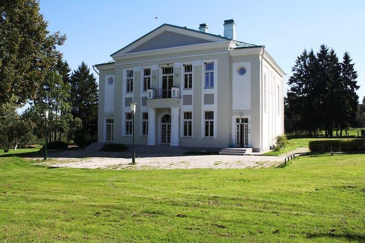 VILLA SPURGA quiet for a big family - Aleksandriškės