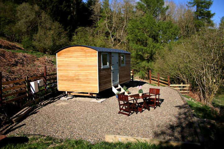 Monstay Farm Shepherd's Hut near Ludlow - Burrington - Baraka