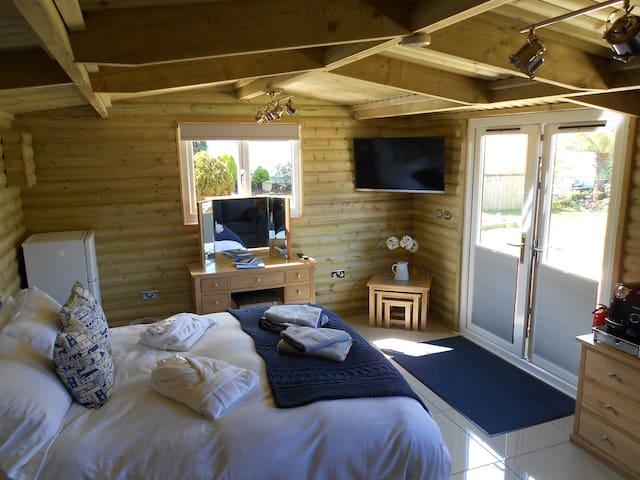 LUXURY LOG CABIN - Carbis Bay - Apartemen