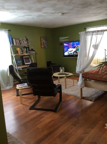 Private studio apartment near UofR/RIT/airport - Rochester - Departamento