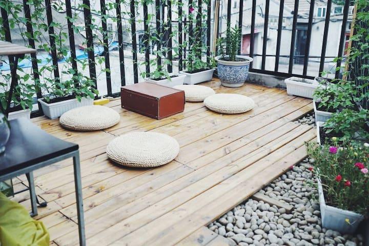 Hutong|婷家小院|充满人情的床位房|叁 - Beijing - Loft