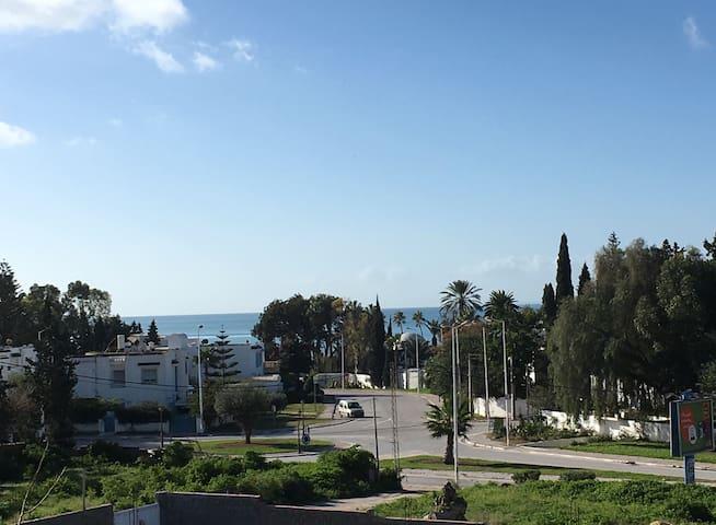 Sea view, Newly Built, Modern 1 Bed - Hammamet
