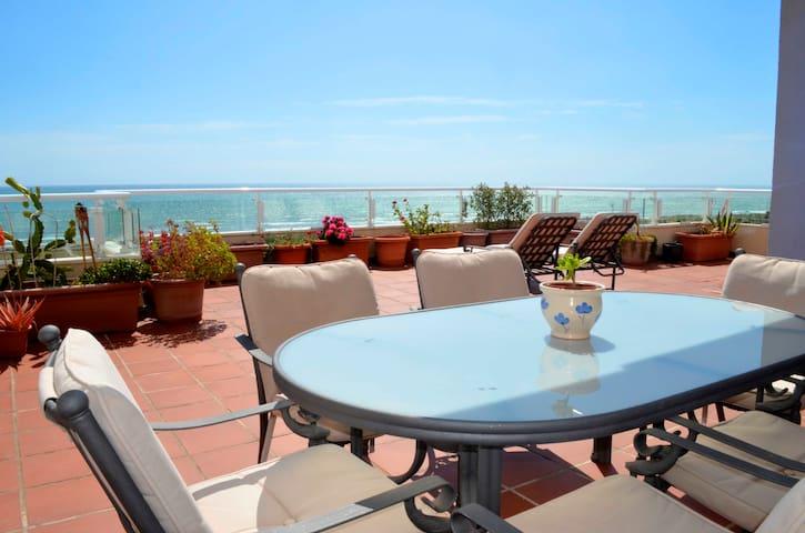 Seaview duplex loft apartment - Almerimar - Lägenhet