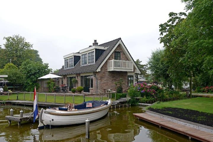 Beautiful house at the lake - Reeuwijk