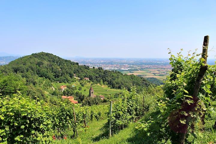 Appartamento in casolare,vista stupenda - Bergamo - Appartement