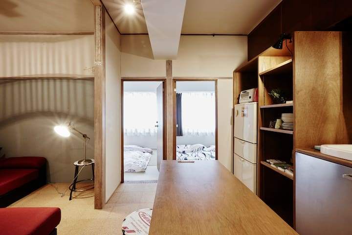 2B Room&1Living,TOKYO Dome1min,Shinjuku12min,7peop - 文京区 - Daire