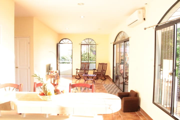 New house, 3 rooms with A/C in the city center - San Juan del Sur - Appartamento