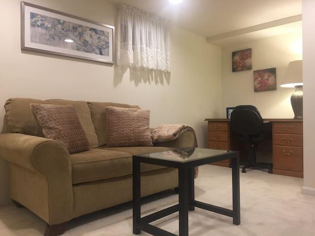Walkout suit basement in Fairfax City - Fairfax - Maison