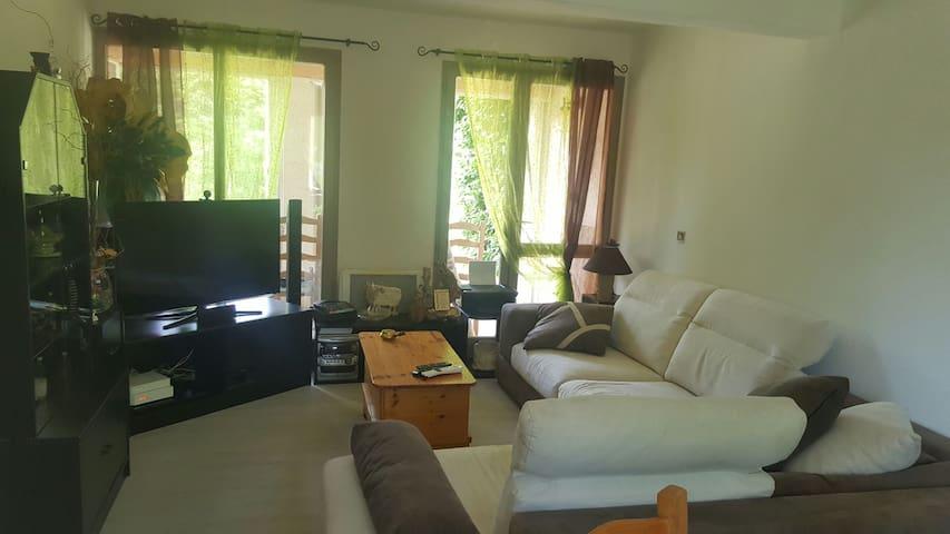 appartement chalereux, au calme, avec son jardin - Peyruis - Apartamento