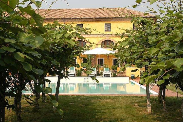 Charme apartament with pool near Verona - Spinimbecco - 아파트