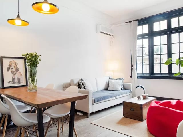 CENTRAL FRENCH CONCESSION, 3 pax, mins to Jingan - Şangay