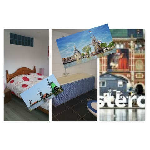 4 Rooms near Amsterdam. - 荷恩(Hoorn)