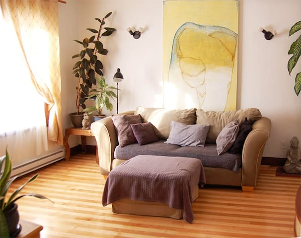 Cozy and warm 2 bedrooms, Verdun - Montréal - Apartmen