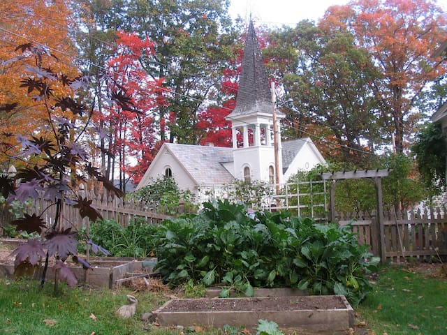Charming studio in renovated 19th century church. - Brattleboro - Dom