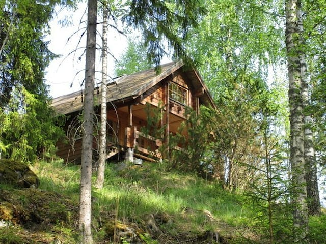 Cozy cottage in private forest (Golf / Hiking) ! - Nokia - キャビン