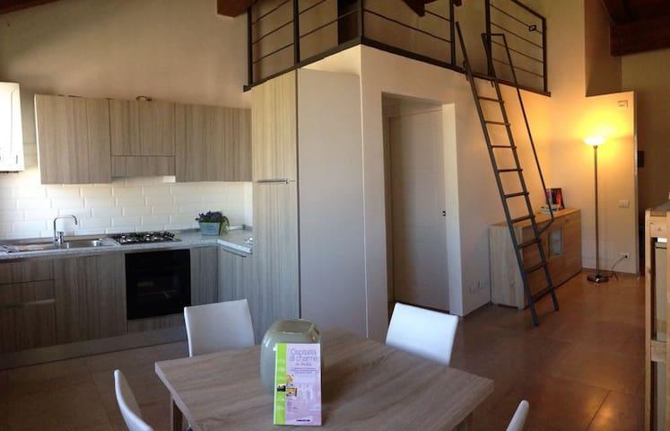 Grazioso loft alle porte di Rovigo e Adria - Villadose - Departamento