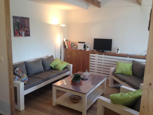 Ruim landelijk gelegen appartement - Nieuwdorp - Apartamento
