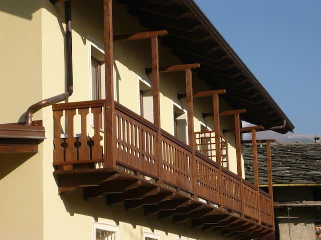 Appartamento in agriturismo Cré seren - Giaglione - Appartement