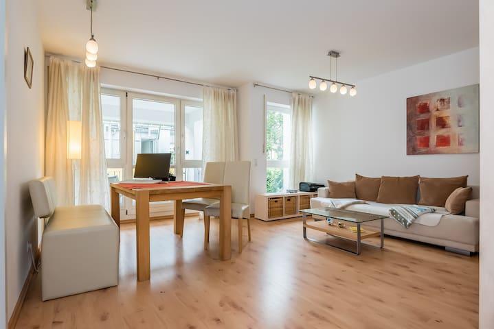 Gemütliche 2-Zi.Wohnung in der City - Augsburg - Apartemen