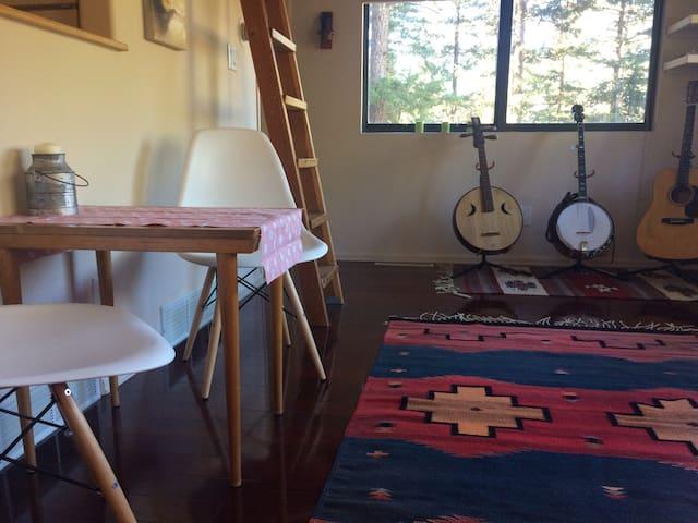 Musician's Mountain Retreat - Evergreen - Rumah