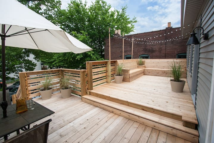 Bed and Bikes with Private Deck - Louisville - Departamento