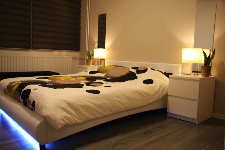 Nice bedroom, 1 or 2 persons (short or long stay) - Eindhoven - Haus