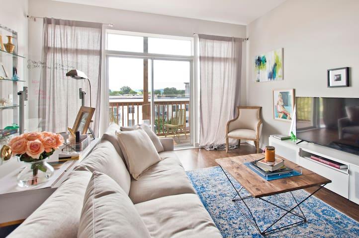 PRIVATE ROOM Southside District Loft Apartment - Chattanooga - Departamento