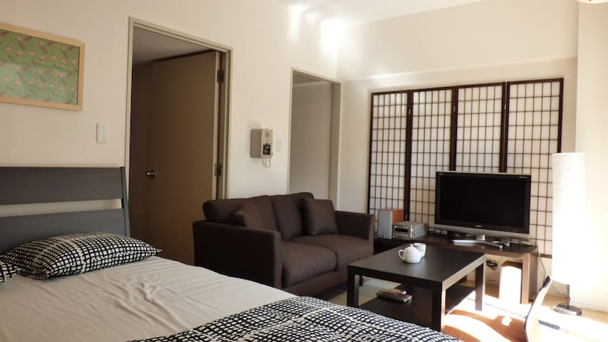 Great room near station straight shot to Tokyo - Chuo Ward, Saitama - Apto. en complejo residencial