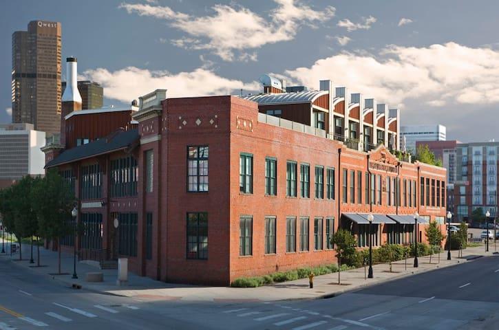 Historic Loft situated in the heart of Denver. - Denver - Loft