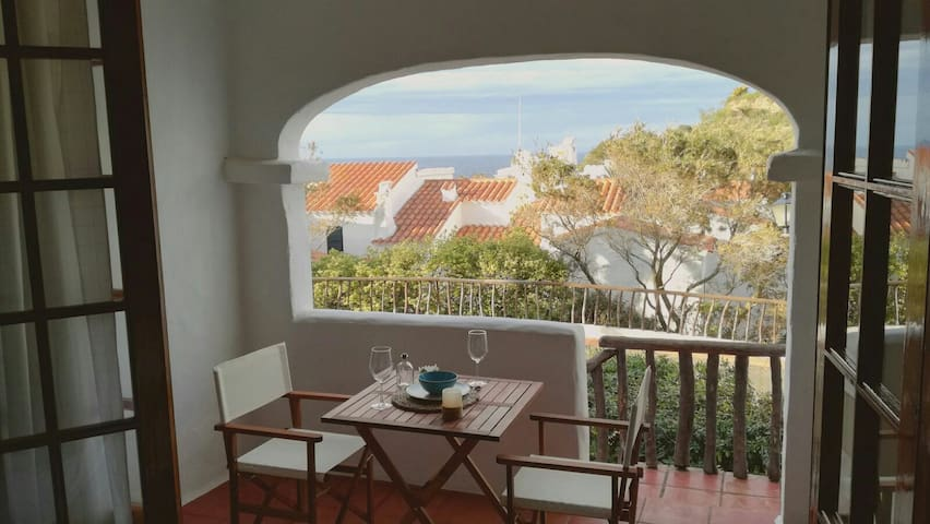 Fantastic apartment with see view in Fornellsbeach - Platges de Fornells - Huoneisto
