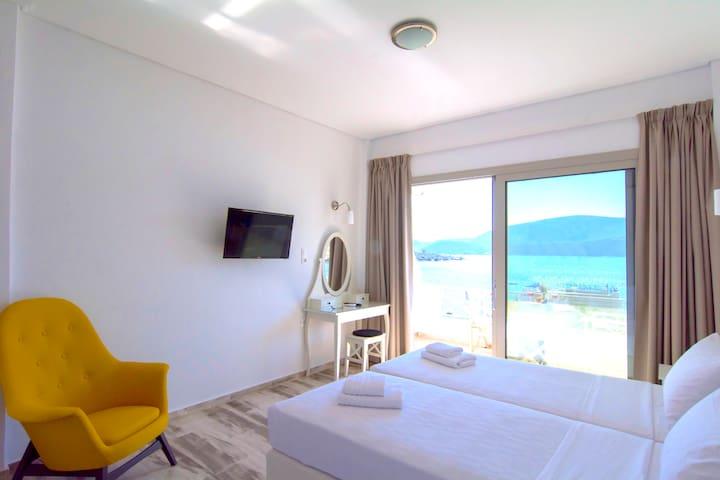 Studio for 3 persons-Belvedere Hotel Korfos - Korfos - Appartement