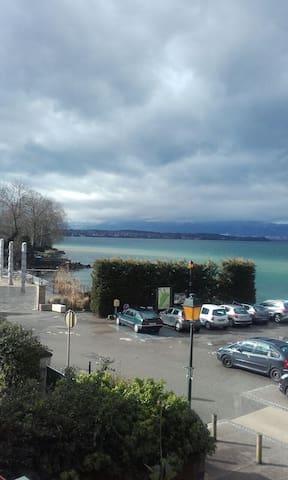 Appartement 3 piéces avec vue sur le lac - Margencel - Leilighet